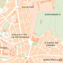 Mapa Callejero De Malaga.Callejero De Malaga